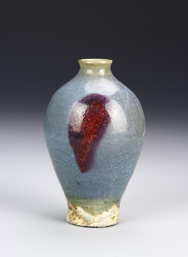 Chinese Jun Yao Meiping Vase