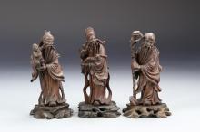 Three Chinese Figurines