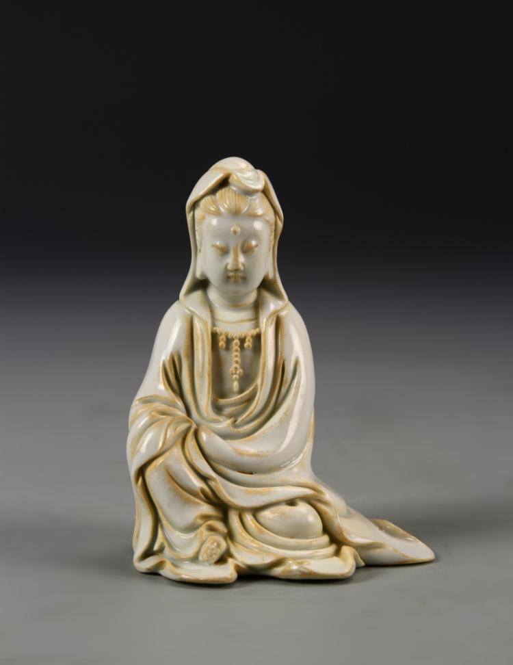 Chinese Celadon Guanyin