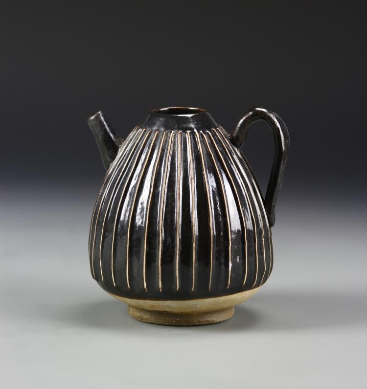 Chinese Black Glazed Teapot