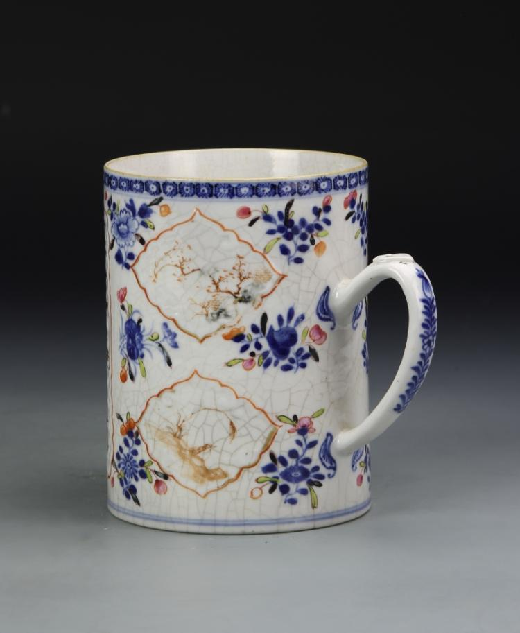 Chinese Export Famille Verte Tea Mug