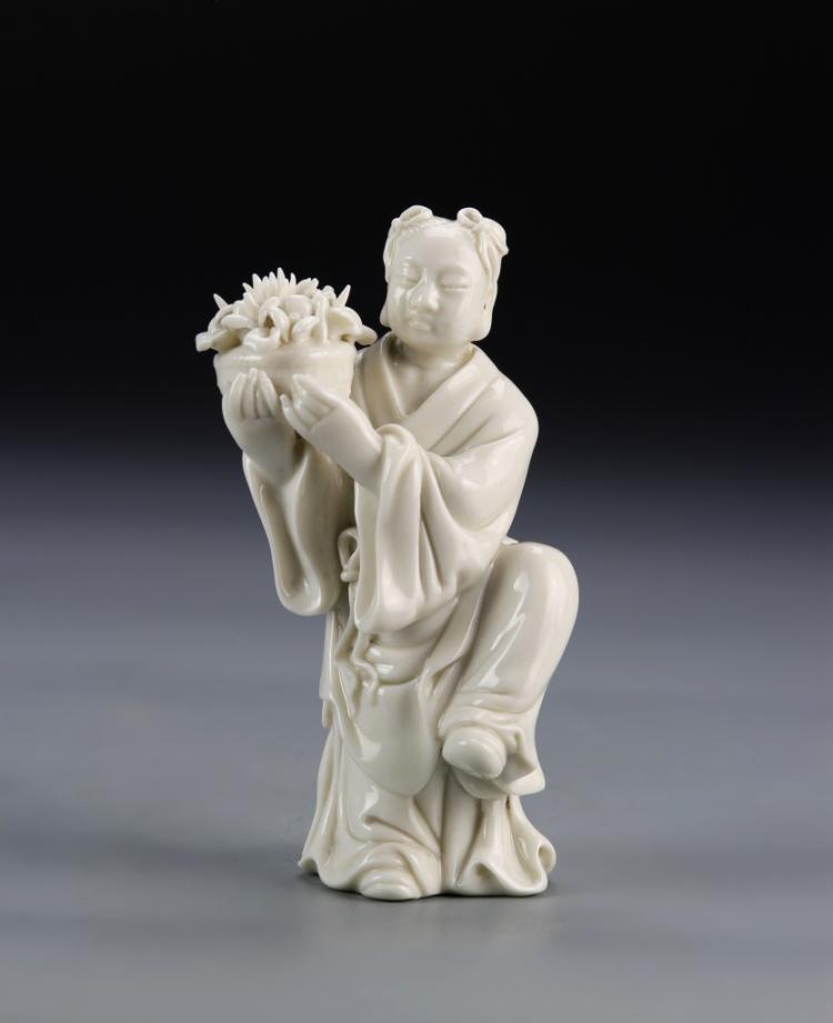 Chinese Blanc de Chine Figure