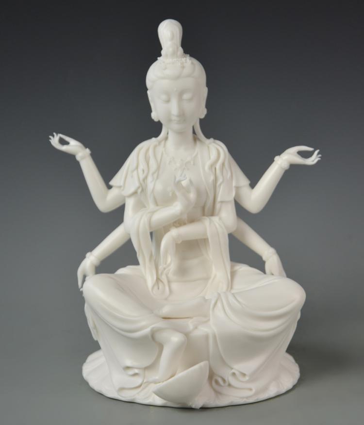 Chinese Blanc de Chine Kwan Yin