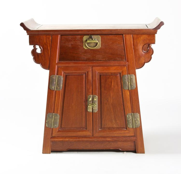 Chinese Huanghuali End Table