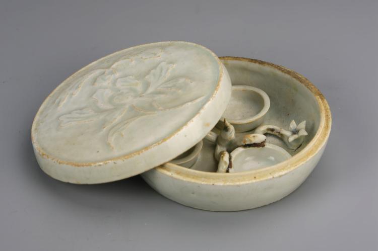 Chinese Antique Cizhou Ware Make-Up Box