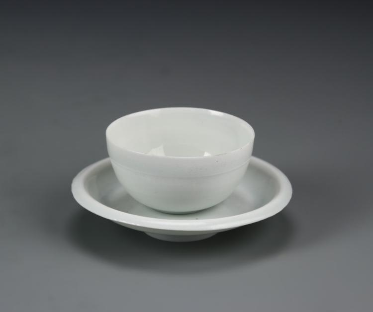 Chinese Yingqing Dish and Cup