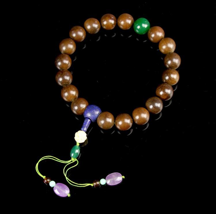 Chinese Wooden Prayer Beads
