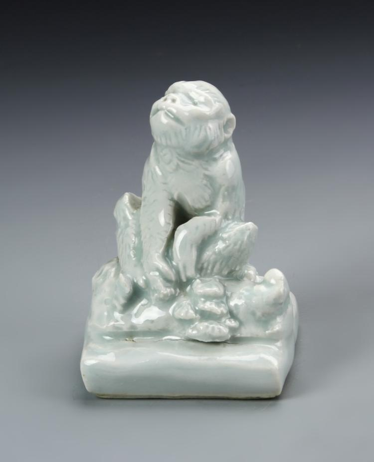 Chinese Celadon Glazed Seal Chop