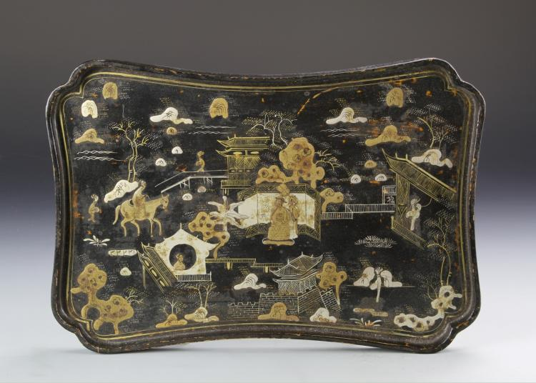 Chinese Lacquer Tray