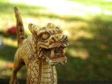 Antique Chinese Dragon Statue