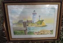 Landscape Paiting Framed