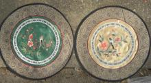 Pair of Antique Chinese Embroidery