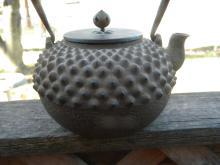 Antique Japanese Iron Teapot 18th C.