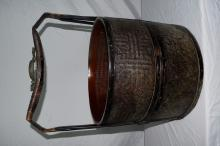 Antique Chinese Bamboo Basket