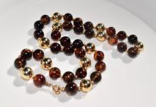 A Amber Necklace
