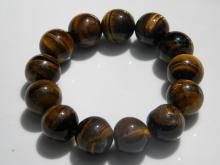 Vintage Tiger's Eye Bead Bracelet