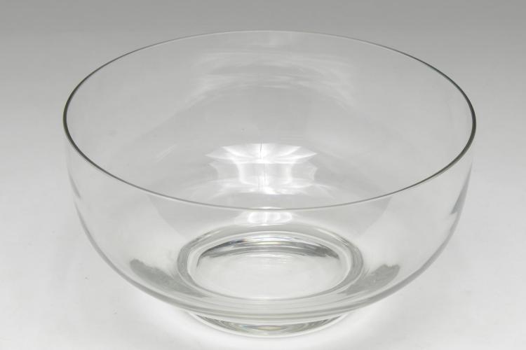 Tiffany & Company Glass Centerpiece or Salad Bowl