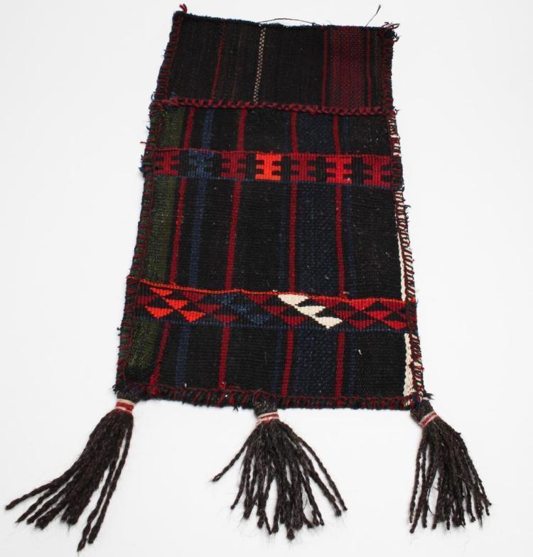 Tribal Ethnographic Woven Wool Satchel