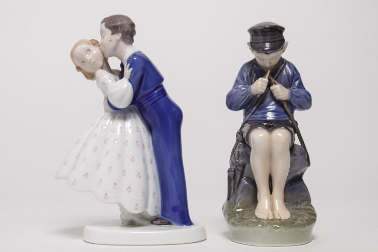Vintage Danish Porcelain Figurines, 2