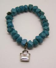 COLDWATER CREEK sterling silver turquoise bracelet