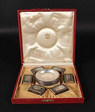 Cartier Sterling Silver Boxed Smoking Set