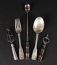 Tiffany & Co Sterling Silver Serving Spoon & Fork