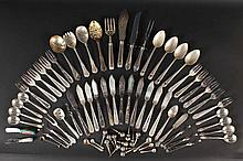 Group of Silver Plated Flatware Items