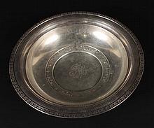 Wallace Sterling Silver Circular Bowl