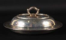 Tiffany & Co Makers Sterling Silver Covered Dish