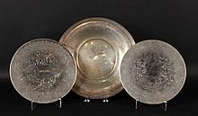 Frank Whiting Sterling Silver Circular Tray