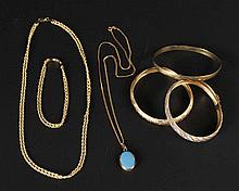 Group Yellow Gold Jewelry