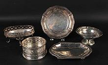 Five German 800 Silver Table Items