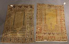 Two Caucasian Throw Rugs