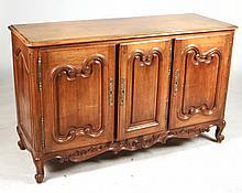 Louis XV Style Mahogany Commode