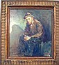 AN OIL ON BOARD, Lajos Markos, Click for value