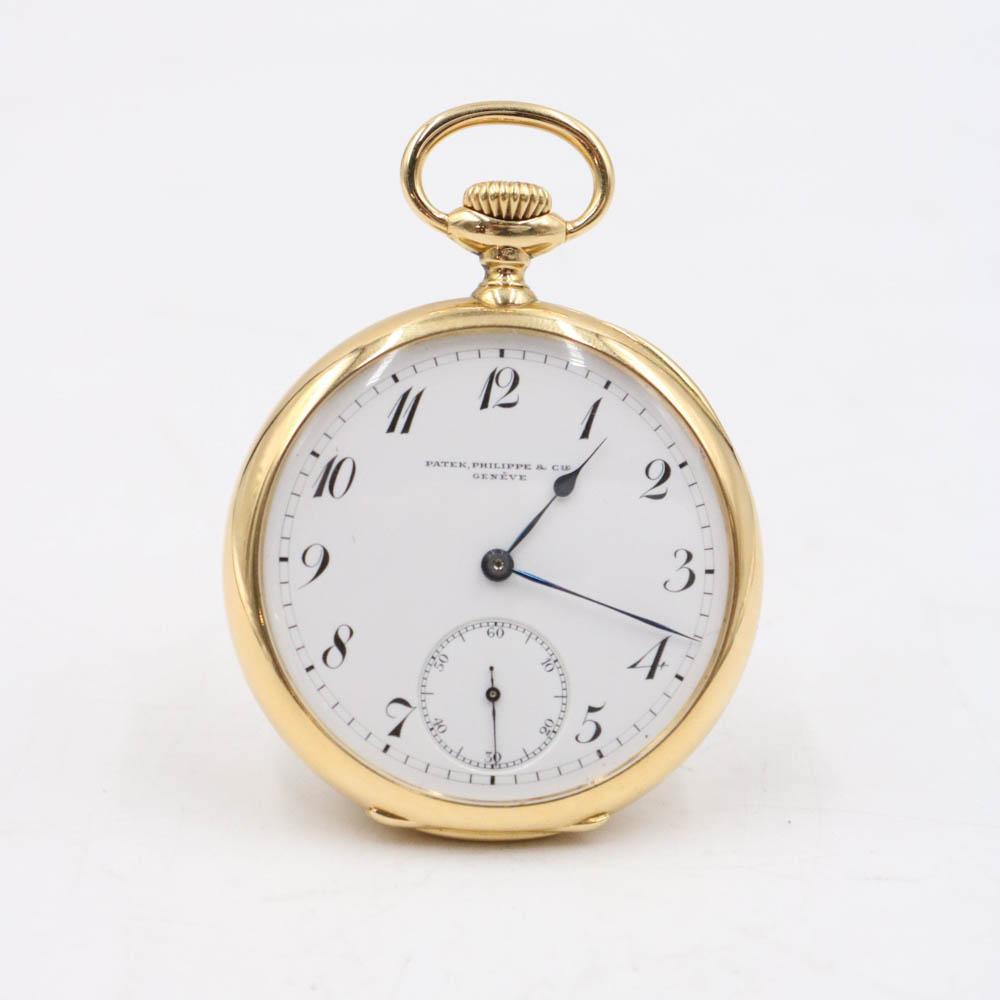 18K Gold Patek Philippe & CO., Geneve Pocket Watch