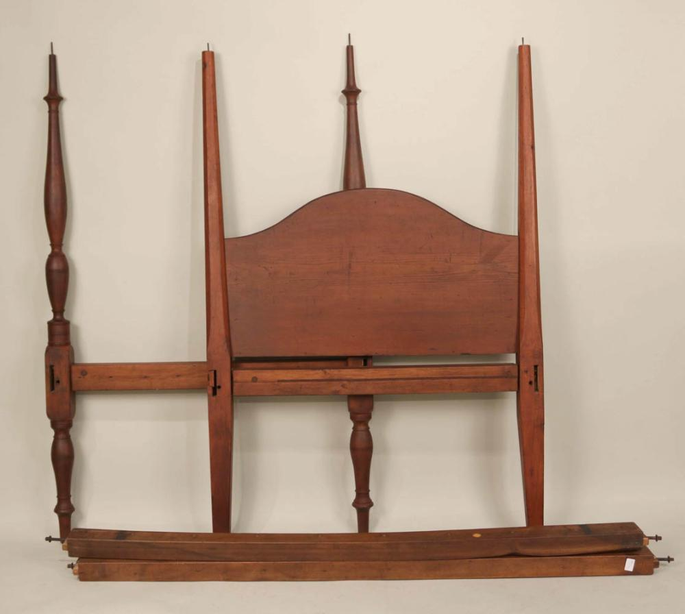 Federal Birchwood and Pine Bedstead