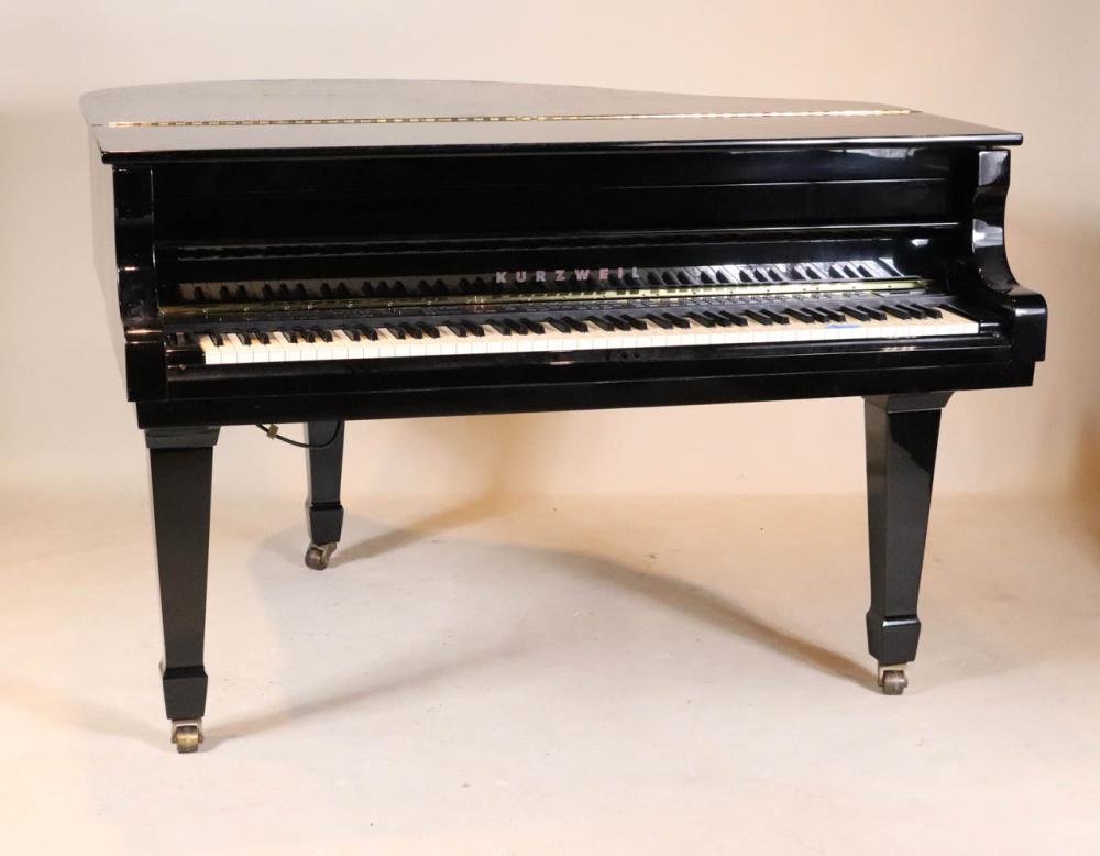 Kurzweil Ebonized Baby Grand Keyboard