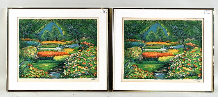 Two Lithographs,