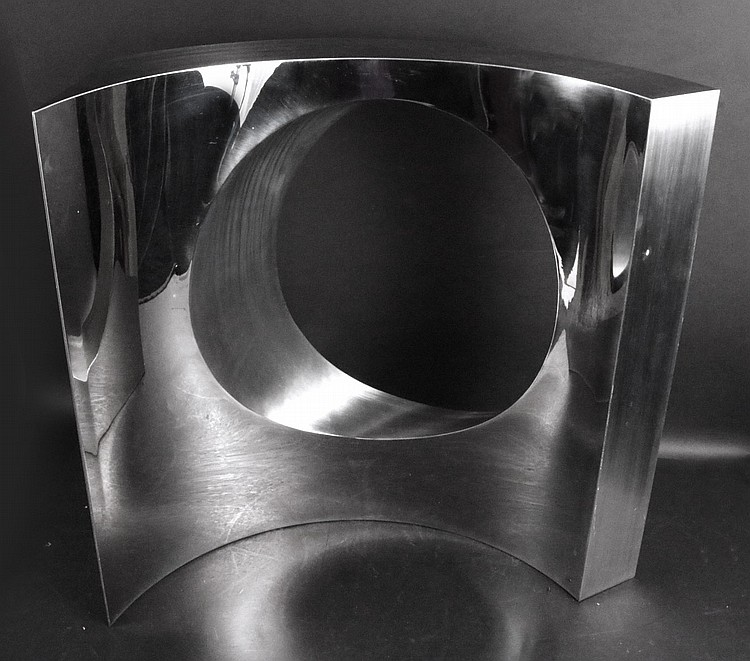 Stainless Steel Abstract Sculpture, Yuyu Yang