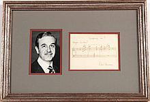 Peter Mennin 7th Symphony Musical Note