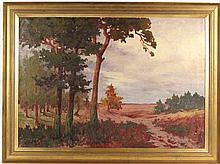 Oil on Canvas, Landscape, Emy Rogge