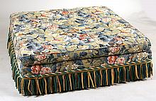 Oversized Square Upholstered Ottoman