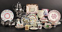 Group of English and American Porcelain
