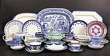 Group of American and English Porcelain