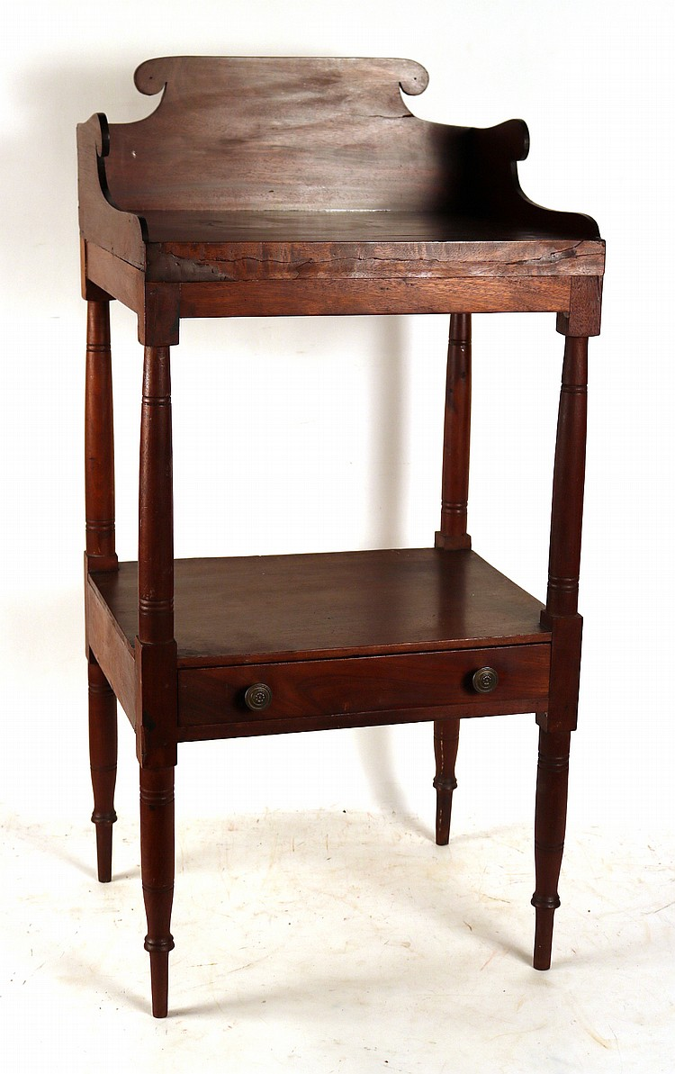 Federal cherrywood wash stand for Oriental furniture nj