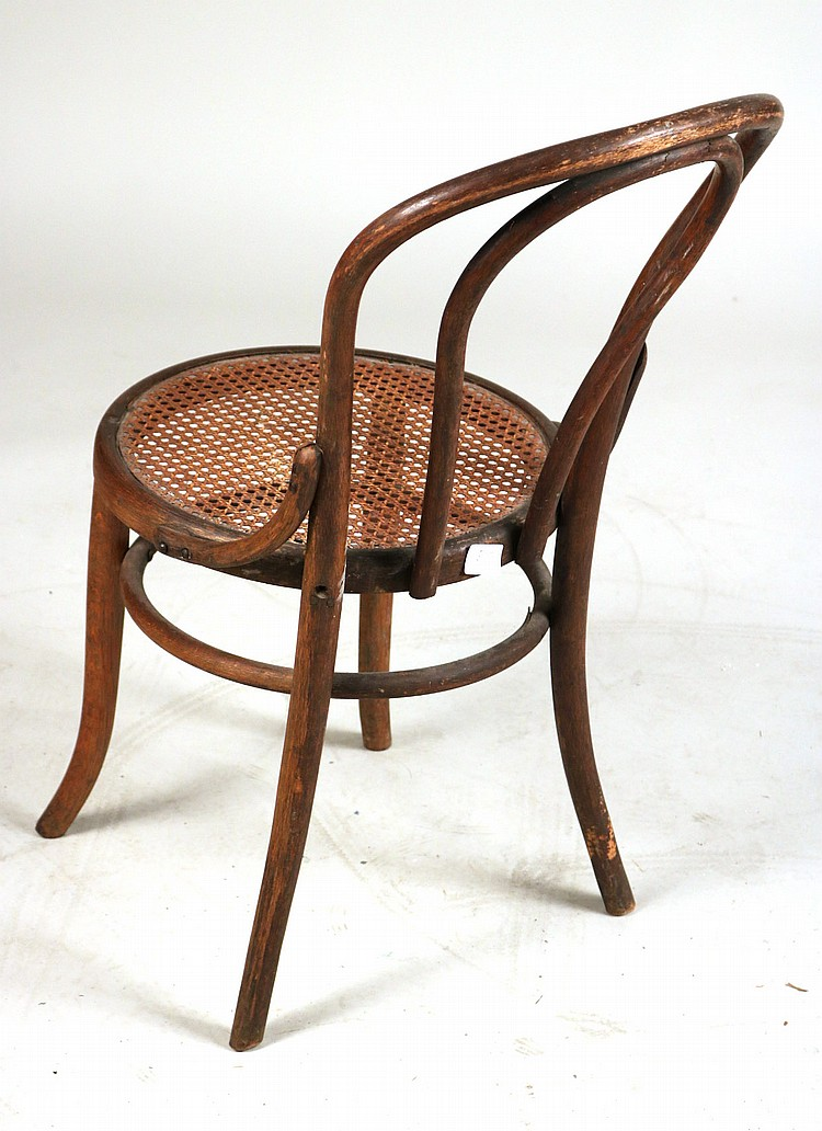lot 465 art deco bentwood rocking chair thonet style