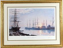 John Stobart Color Print Sunrise Over Nantucket
