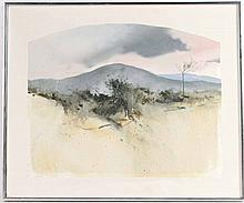 Oil on Canvas, Abstract Landscape, Orsini