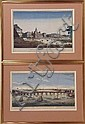 TWO HAND-COLORED FRENCH ENGRAVINGS DEPICTING VIEWS OF LONDON, BY JACQUES CHEREAU, Jacques Chéreau, Click for value